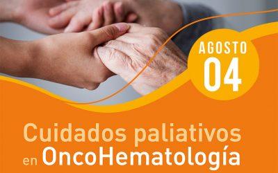 """Disponible el video del webinario """"Cuidados Paliativos en Oncohematología"""""""