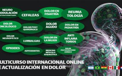 """Comunicamos el auspicio de la AAMyCP al """"Multicurso Internacional Online de Actualización en Dolor"""", organizado por la Fundación GADA"""